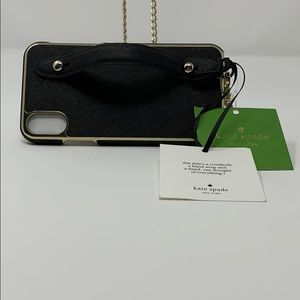 Katespade hand strap,stand & Crossbody for iPhones